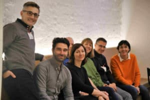 Gruppenfoto Jury des Digital Publishing Award