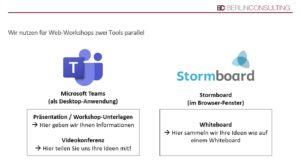 Berlin Consulting Web-Workshop: eingesetzte Tools