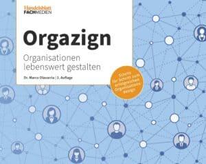 Titelseite Orgazign 2. Auflage, Dr. Marco Olavarria